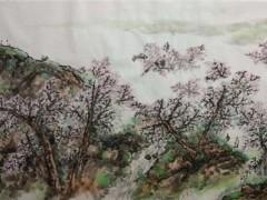 《静雅神逸》郑虔国画作品展在西安同仁书画研究院隆重开幕