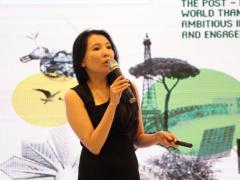 中国瑞士商会秘书长黄培敏:凝聚女性力量 参与兑现《巴黎协定》承诺