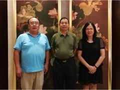 美国海商会常务副主席林师雄来访海口市外侨办