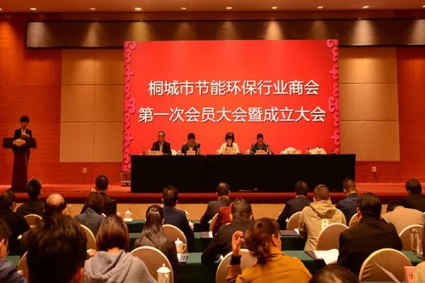 桐城市节能环保行业商会成立