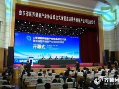 山东省医养健康产业协会今天成立