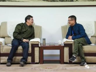 山西省钢铁行业协会领导莅临晋钢调研