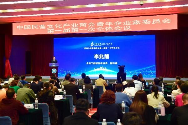 中国民营文化产业商会青年企业家委员会成立